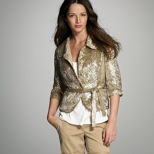 Sequined Carolyn jacket