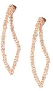 Alexis Bittar Cry En Abstract Rose Goldtone Thorn Post Earrings