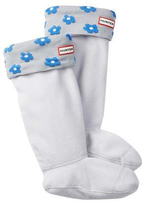 Hunter Tall Floral Cuff Boot Socks