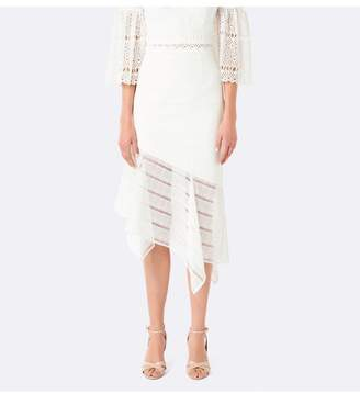 Ever New Ivy lace asymm co-ord skirt