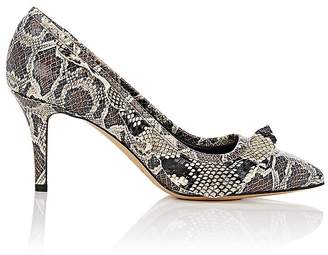 Isabel Marant Women's Poween Stamped Leather Pumps