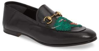 Gucci Brixton Embroidered Loafer