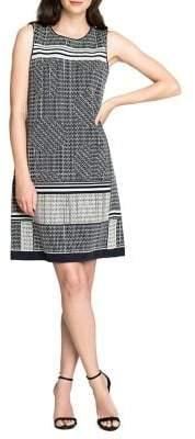 Nic+Zoe Printed Sleeveless Shift Dress