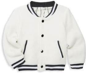 Leah and Rae Baby's& Little Kid's Scout Varsity Jacket