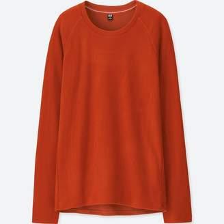 Uniqlo WOMEN HEATTECH Stretch Fleece Crew Neck Long Sleeve T-Shirt