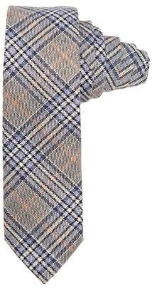 Paisley & Gray Blue\u002FGray Plaid Tie