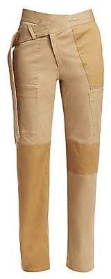 Monse Women's Straight Leg Cargo Pants