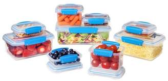 Sistema 18pc Food Storage Container Set Blue