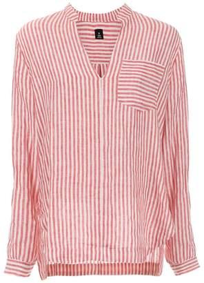 OSKLEN striped linen shirt