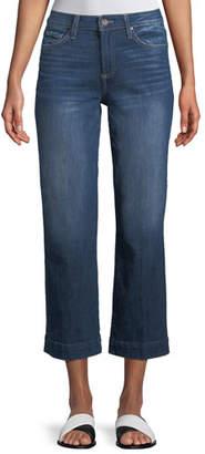 Paige Nellie Wide-Leg Ankle Culotte Jeans