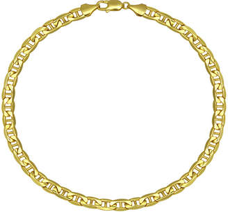 JCPenney FINE JEWELRY Made in Italy 10K Yellow Gold 9 Hollow Mariner Chain Bracelet
