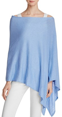 Minnie Rose Cotton Ruana Poncho $99 thestylecure.com
