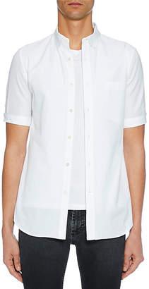 Alexander McQueen Men's Short-Sleeve Button-Up Shirt