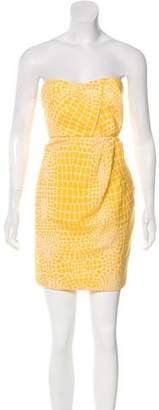 Tibi Strapless Mini Dress