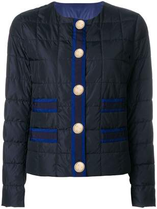 Fay quilted buttoned jacket