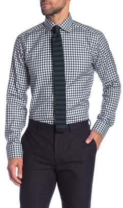 Eton Checkered Long Sleeve Slim Fit Shirt