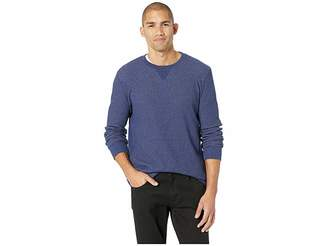 Lucky Brand Fleck Thermal Crew Neck Tee