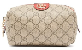 Gucci Ophidia Gg Supreme Canvas Make Up Bag - Womens - Grey Multi