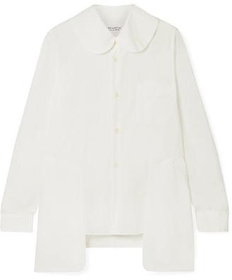 Comme des Garcons Voile Shirt - White
