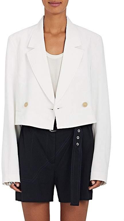 Women's Tech-Twill Crop Blazer