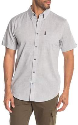 Ben Sherman Horizontal Stripe Short Sleeve Shirt