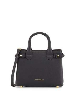 Burberry Banner Small House Check Derby Tote Bag, Black $1,295 thestylecure.com