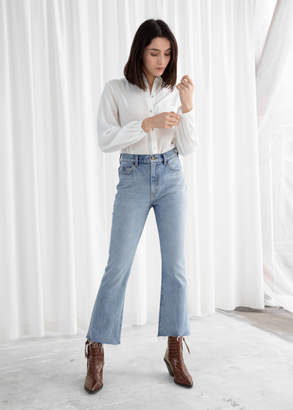And other stories Kick Flare High Rise Jeans