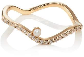 Ileana Makri Women's Y-D-Pearl Ring