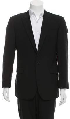 Calvin Klein Collection Two-Button Wool Blazer