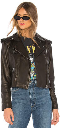 Generation Love Roxy Ruffle Moto Jacket