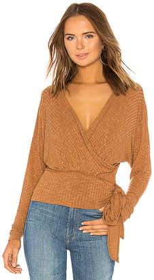 Free People East Coast Wrap Sweater