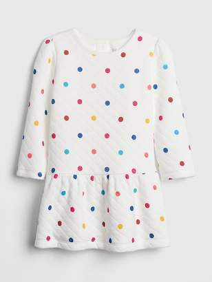 Gap Quilted Dot Dress