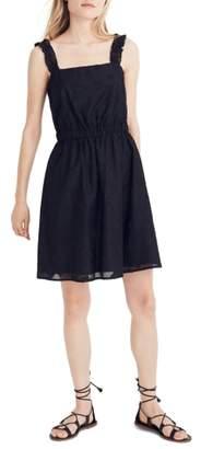 Madewell Jacquard A-Line Minidress