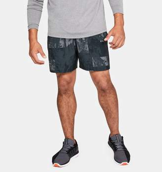 """Under Armour Men's UA Launch SW 5"""" Printed Shorts"""