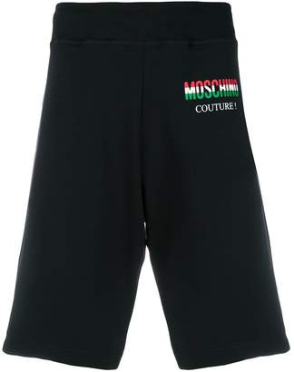 Moschino drop crotch sweatshorts