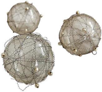 One Kings Lane Vintage German Glass Christmas Tree Balls - Fleur de Lex Antiques
