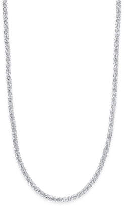 "Giani Bernini 20"" Sparkle Link Chain Necklace in Sterling Silver"