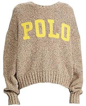Polo Ralph Lauren Women's Logo Crewneck Sweater