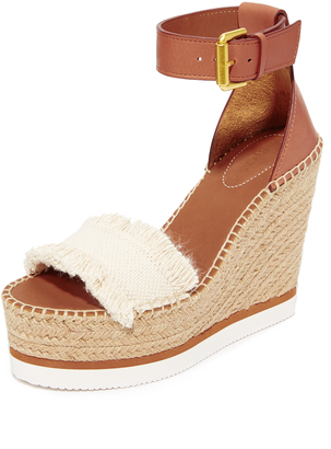 See by Chloe Wedge Espadrilles $190 thestylecure.com