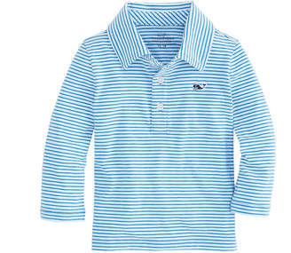 Vineyard Vines Baby Boy Long-Sleeve Shep Stripe Edgartown Polo (12-24 MO)