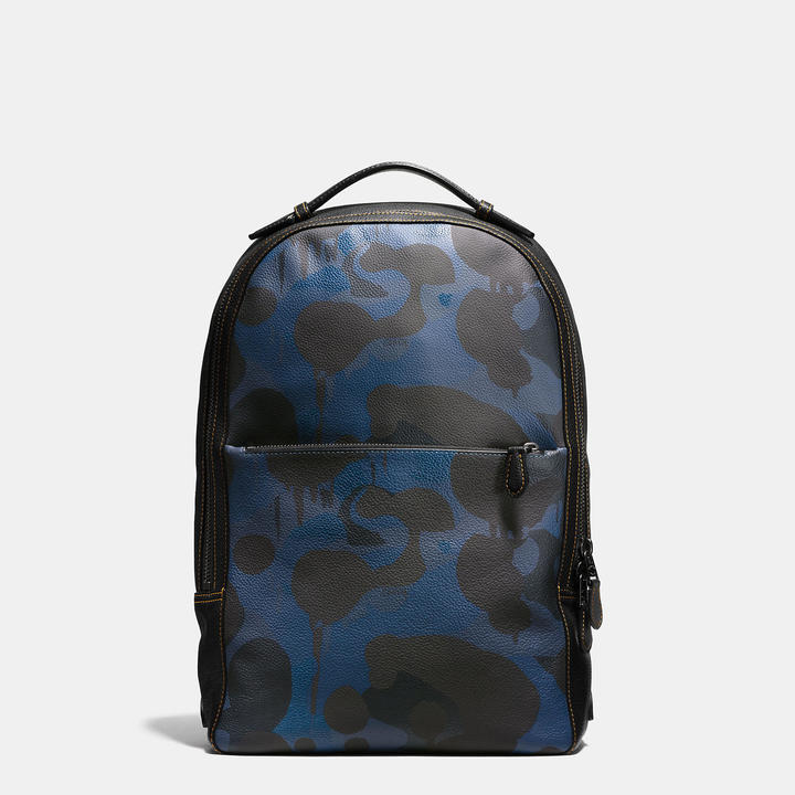 COACH Coach Metropolitan Soft Backpack In Wild Beast Print Leather