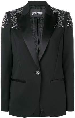 Just Cavalli embellished slim-fit blazer
