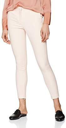 Selected Women's Sfmuse Cropped Mw Pant-Sand Dollar Trouser,(Manufacturer Size: 42)