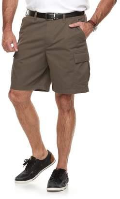 Croft & Barrow Big & Tall Flex Relaxed-Fit Twill Cargo Shorts