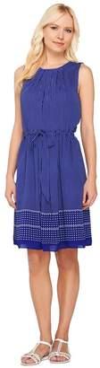 Liz Claiborne New York Dot Print Sleeveless Dress