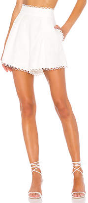 Zimmermann Allia High Waisted Short