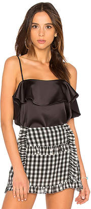 Sincerely Jules Ruffle Front Crop Cami