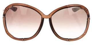Tom Ford Claudia Gradient Sunglasses