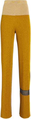 Missoni Two Tone Flare Knit Pants