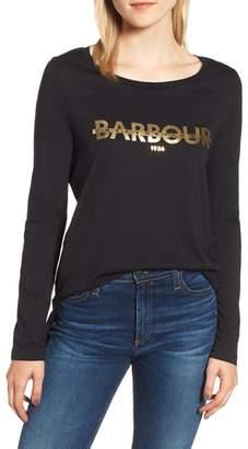 Barbour International Grandstand Logo Graphic Tee